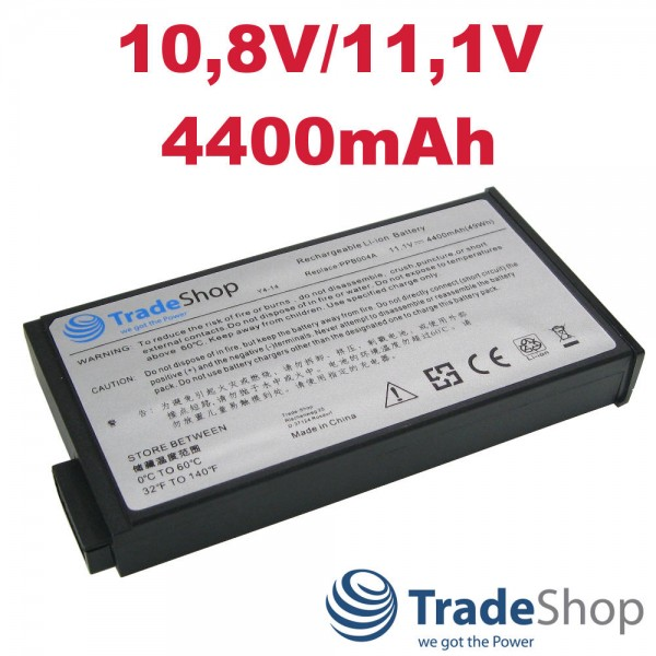 AKKU für HP Compaq NC6000 NC8000 NW8000 NX5000 NX8000