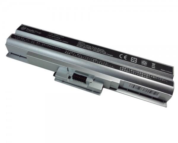 AKKU ersetzt Sony Vaio VGP-BPS13/B VGP-BPS13/Q 4400mAh uvm in silber