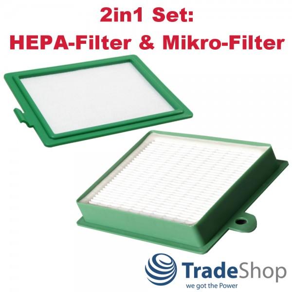 Set HEPA Electrolux ACX 6202 6206 AEC 7570 AEC 7571 /& Mikro-Filter für AEG
