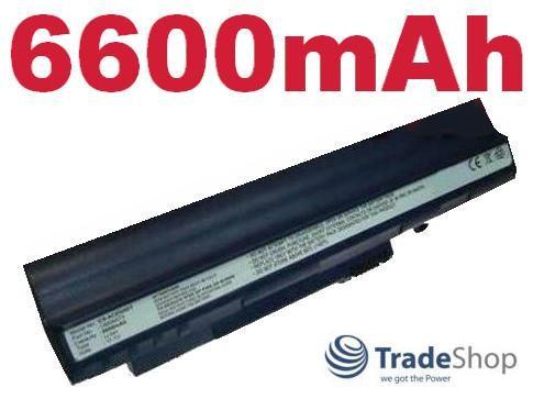Akku für Acer Aspire One A110 D150 D250 Blau 6600mAh