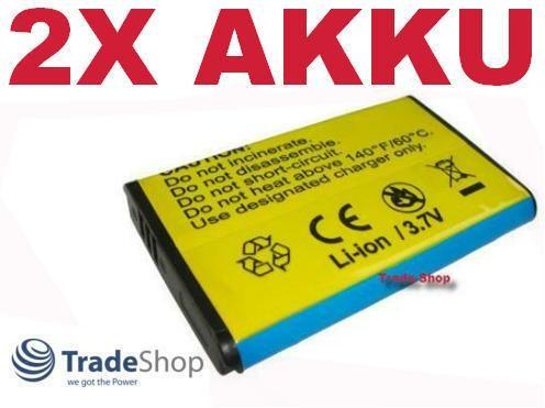 2x AKKU für SAMSUNG SMX-C10 SMX-C-10 SMXC10 IA-BH130LB