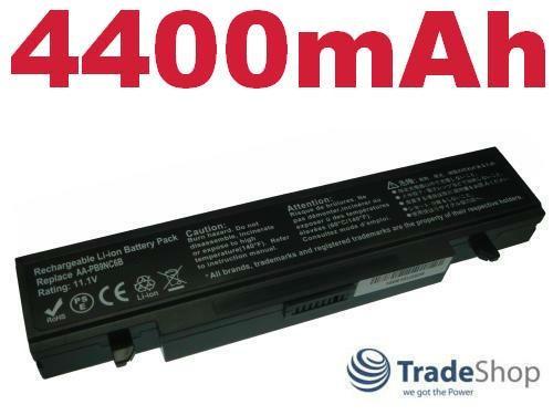 AKKU für Samsung R-505 R505-FS05DE AA-PB9NC6W 4400mAh
