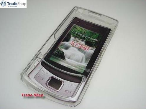 CRYSTAL Tasche Hülle Case für Samsung S7350 Ultra Slide