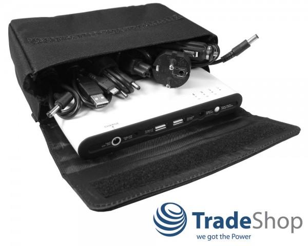 Powerbank 27000mAh Externer Akku für Laptop Notebook Netbook Ultrabook