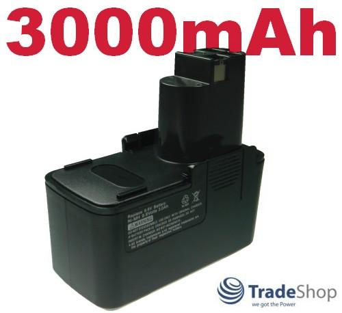 Akku für BOSCH GBM 9.6 9,6 VSP-3 VSP3 GLI 9.6V 9,6V