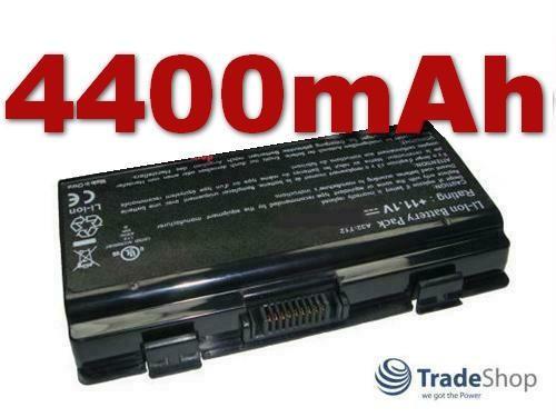 AKKU für ASUS T12 X51 X53 X51R T12C X51RG Serie 4400mAh