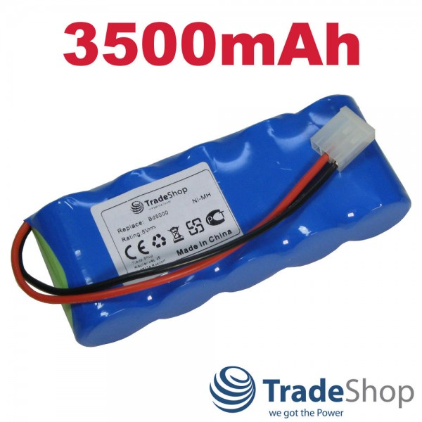 2x AKKU 6V 3500mAh für Bosch Somfy BD5000 BD6000 ersetzt E-BRLX620-1-NC