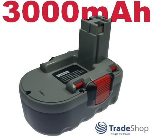 Werkzeug Akku Batterie 3000mAh 18V für Bosch 3860CK 3860K 3860CRK 3860RK