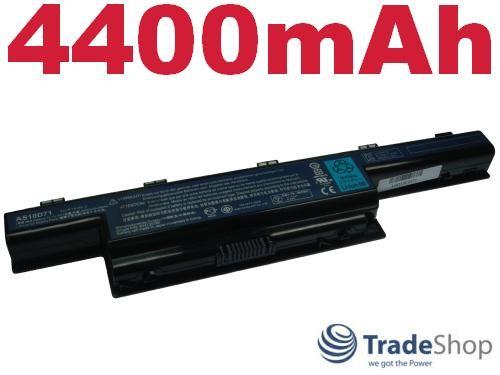 AKKU f. Acer Aspire 4251 4741 4551 4551G 4551-G 4400mAh
