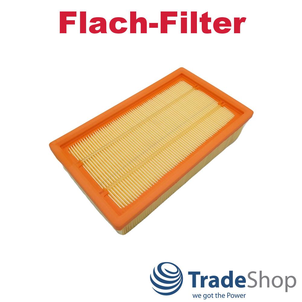STAUBSAUGER FLACH FILTER FLACHFALTENFILTER für KÄRCHER NT 361 Eco//Te//M