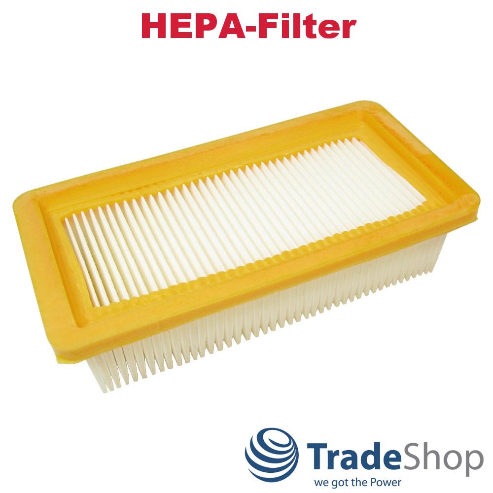 HEPA-Flachfaltenfilter Lamellenfilter für Kärcher AD 3.200 EU-II AD 4 Premium