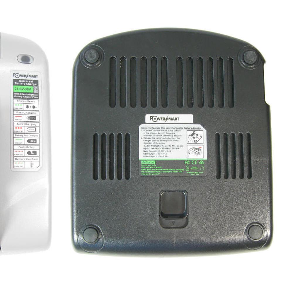 Akku Ladegerät 7,2V-24V Ladestation für Bosch PSR14.4VES-2 22612 23612 32612