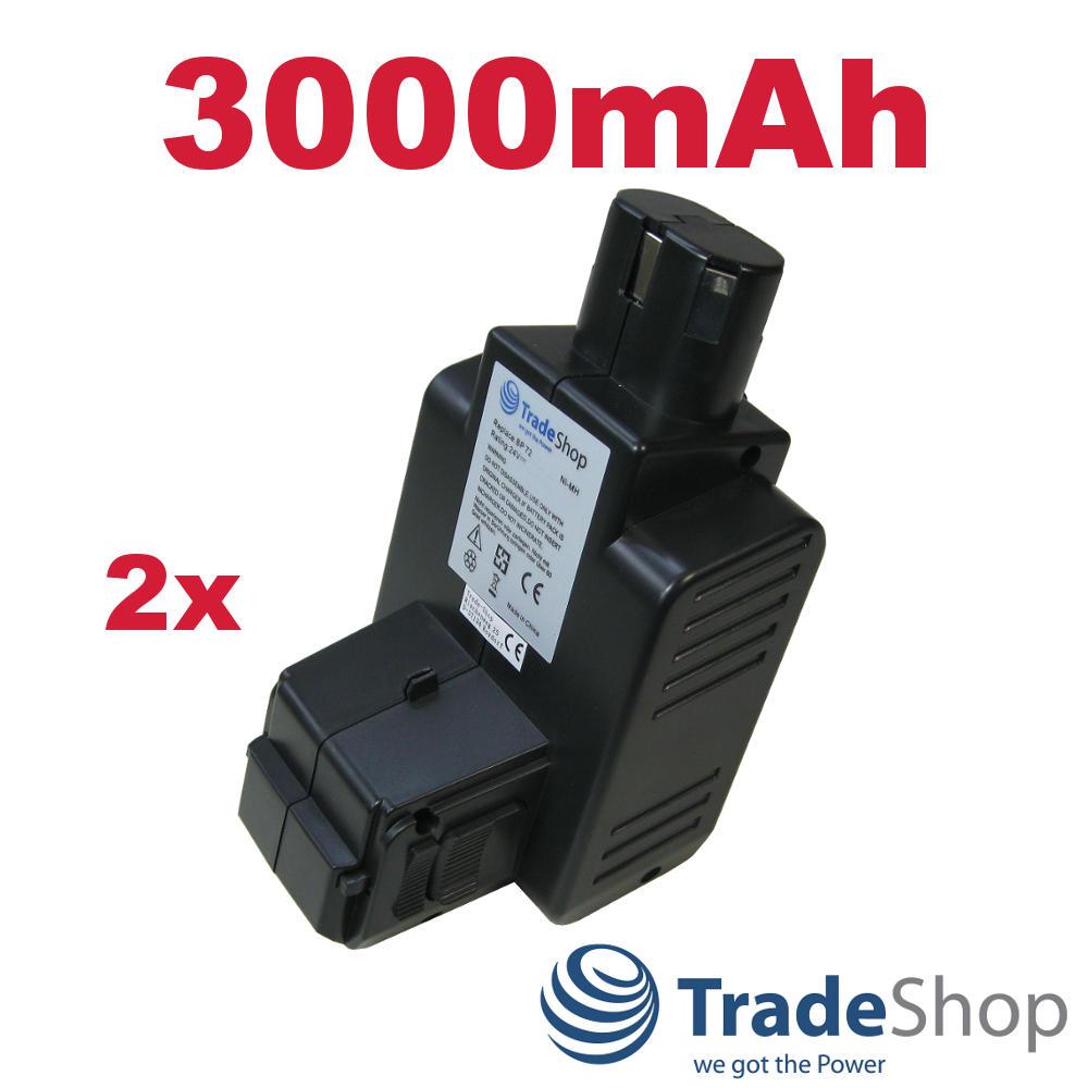 2x Hochleistungs Akku 24V 3000mAh Ni-MH für Hilti C7//24 TE5A ersetzt BP60