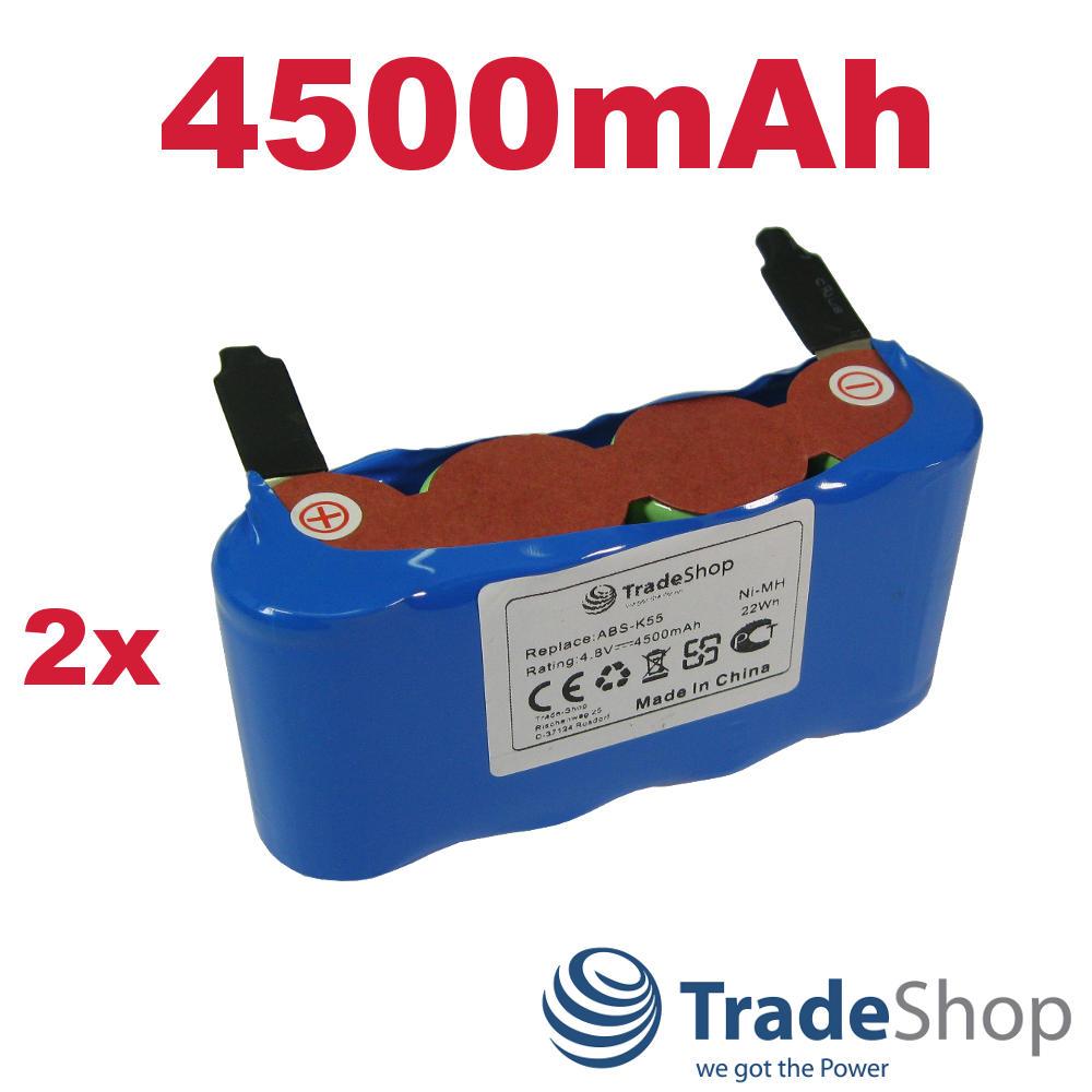 Premium Akku 4500mAh 4,8V Ni-MH für Kärcher K50 K85 ersetzt ABS-K55 BF9900