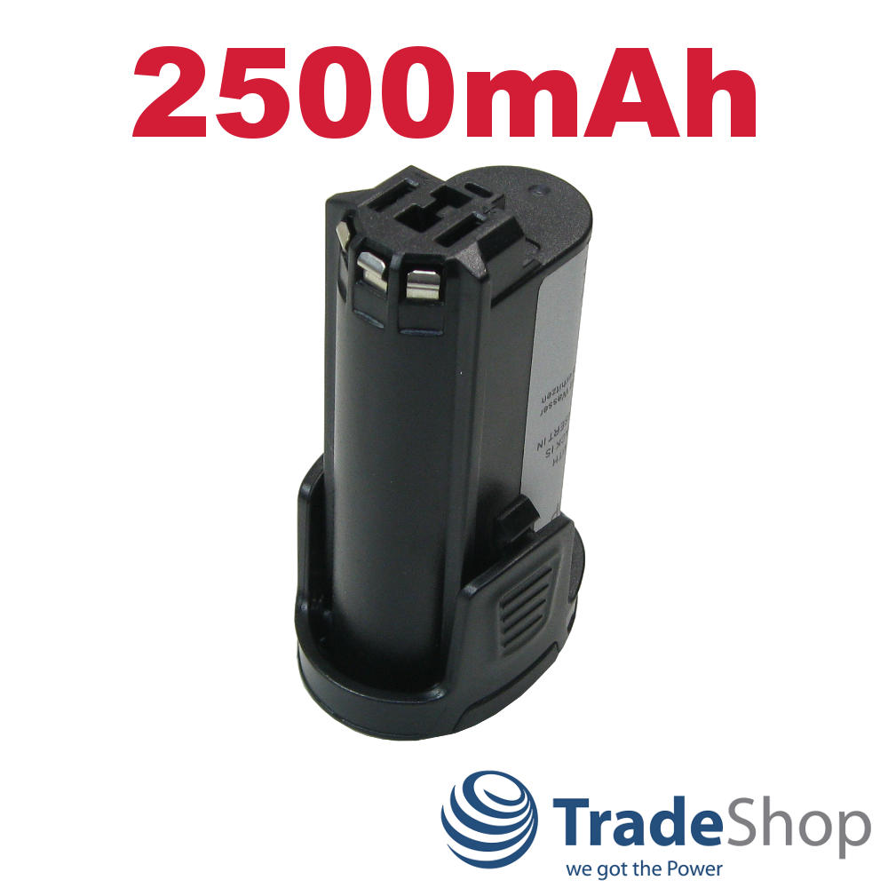26150808JA 2.615.080.8JA AKKU 7,2V 2500mAh Li-Ion ersetzt Dremel 2607336715