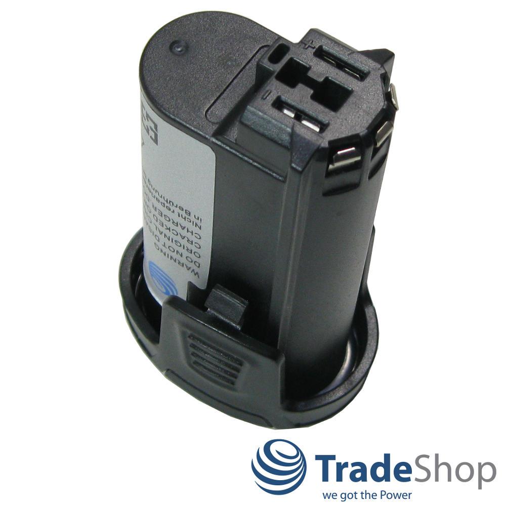 trade-shop premium akku 7,2v 2500mah li-ion für dremel 8100 cordless