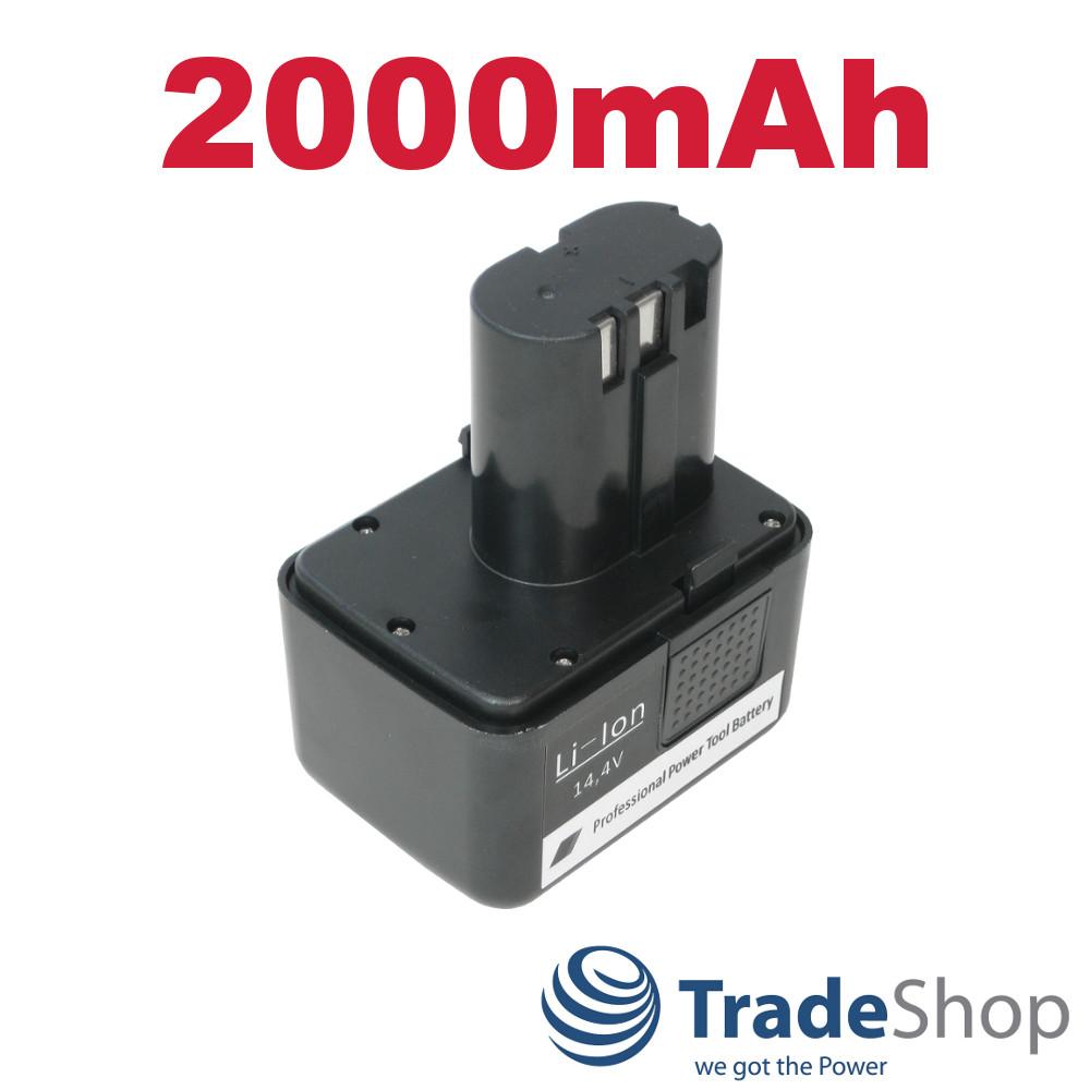 AKKU 14,4V Ni-Mh 2000mAh 28,8Wh für Gesipa FireBird Gold Edition G14 070091526