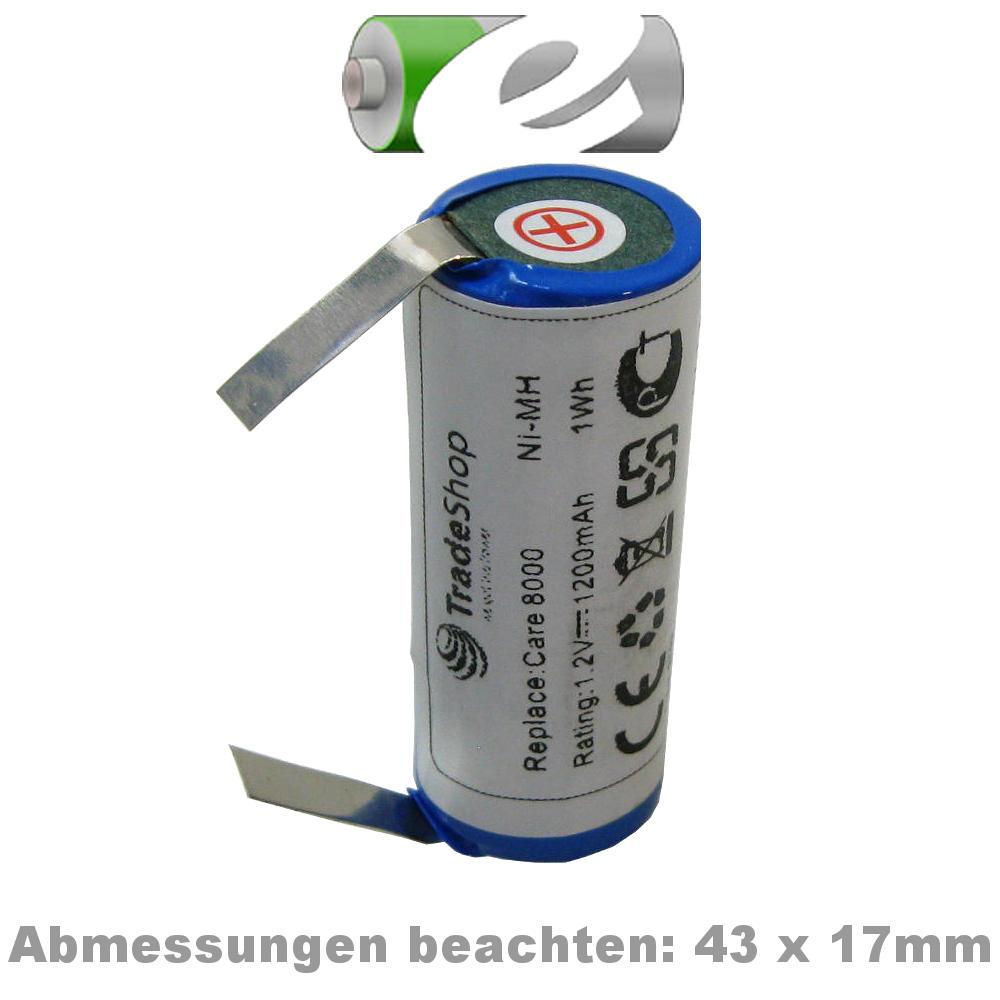 BATTERIA NI-MH per Oral-B TRIUMPH 9400 3731 TRIUMPH 9000 Professional Care 8500 3